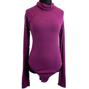 NWT Free People All You Want Turtleneck Bodysuit